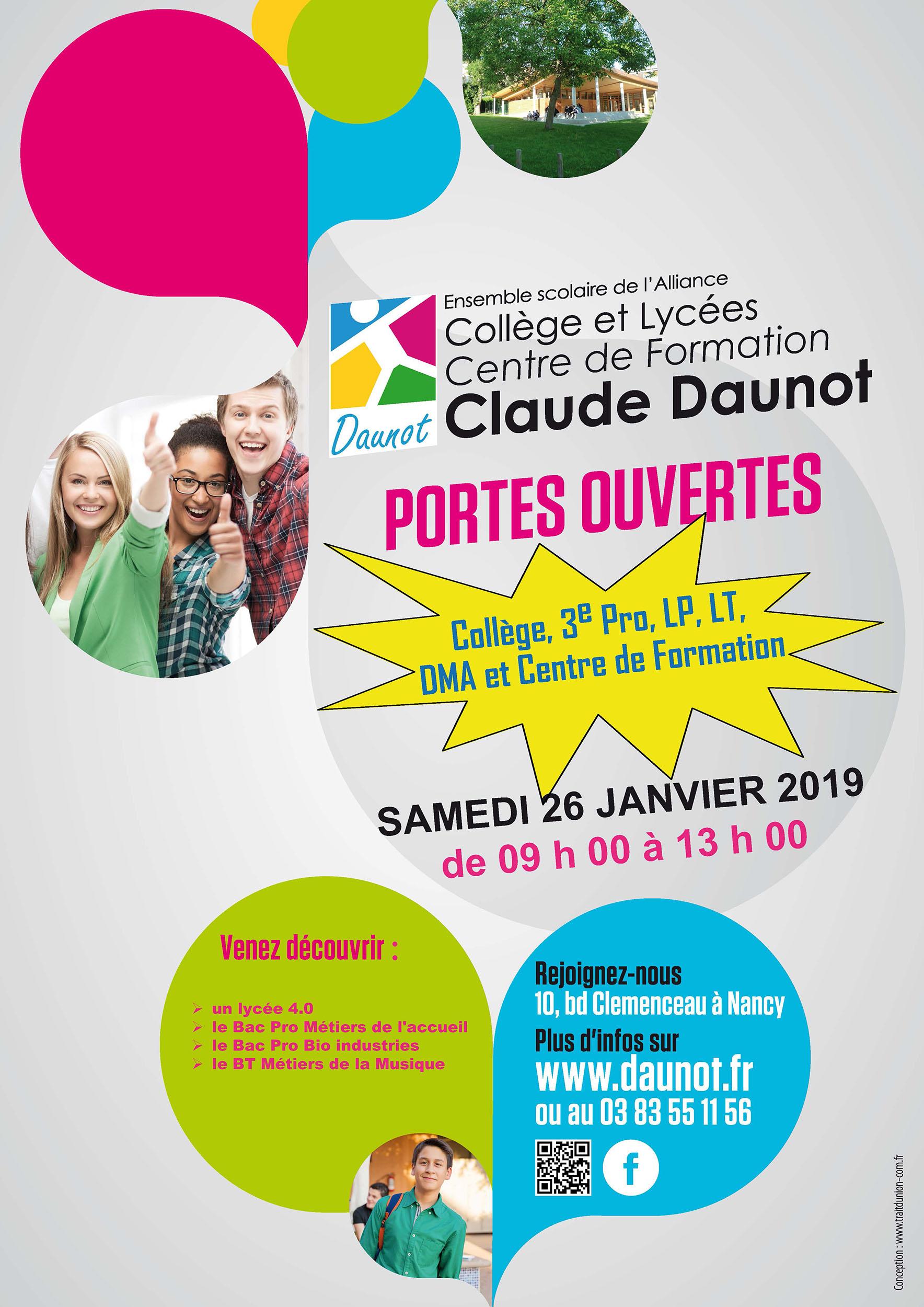 Portes Ouvertes 2019 Claude Daunot
